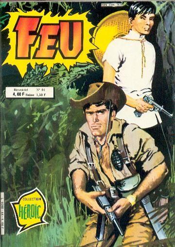 Couverture de Feu -44- L'odyssée du Sergent Garrett.
