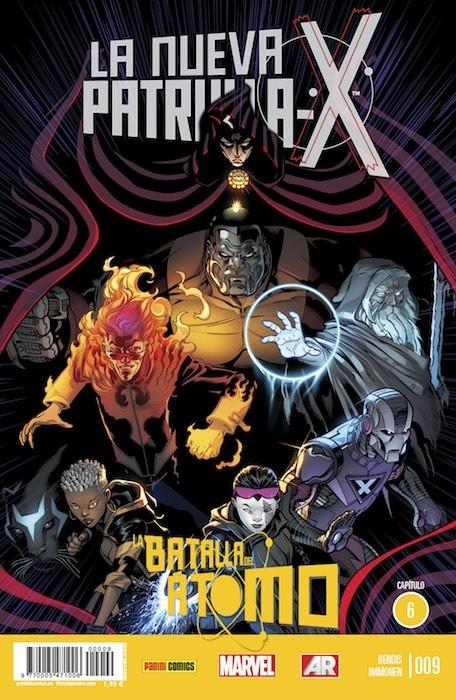 Couverture de La nueva Patrulla-X -9- La Batalla Del Átomo. Capítulo 6