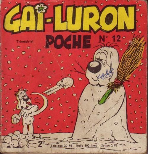 Couverture de Gai-Luron (Poche) -12- Vitalité