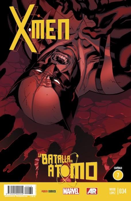 Couverture de X-Men v4 -34- La Batalla Del Átomo. Capítulo 7