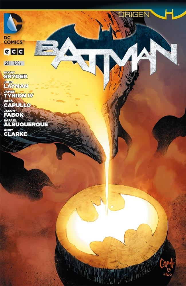 Couverture de Batman (en espagnol) -21- Origen