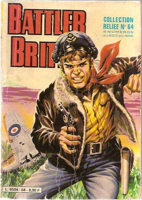 Couverture de Battler Britton -Rec64- Collection Reliée N°64 (du n°403 au n°406)