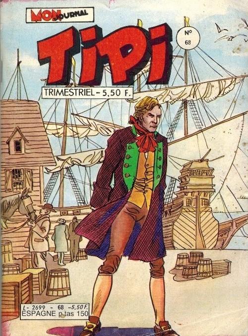 Couverture de Tipi -68- Le coup de poing