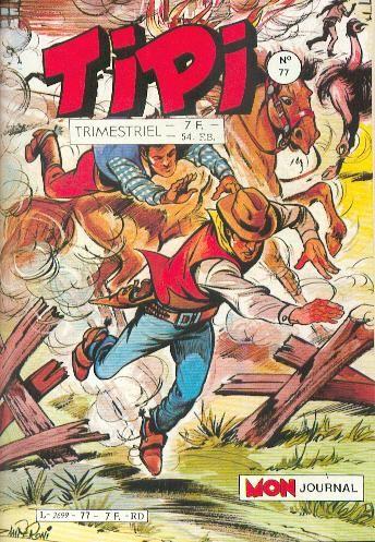 Couverture de Tipi -77- Tipi 77