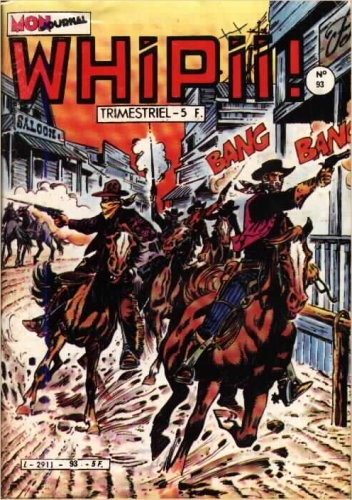 Couverture de Whipii ! (Panter Black, Whipee ! puis) -93- Whipii! 93