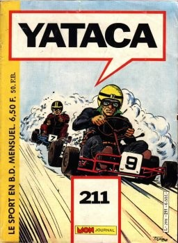 Couverture de Yataca (Fils-du-Soleil) -211- Yataca 211
