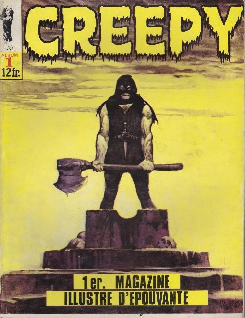 Couverture de Creepy (Publicness) -REC01- Album N°1 (du N°4 au N°6)