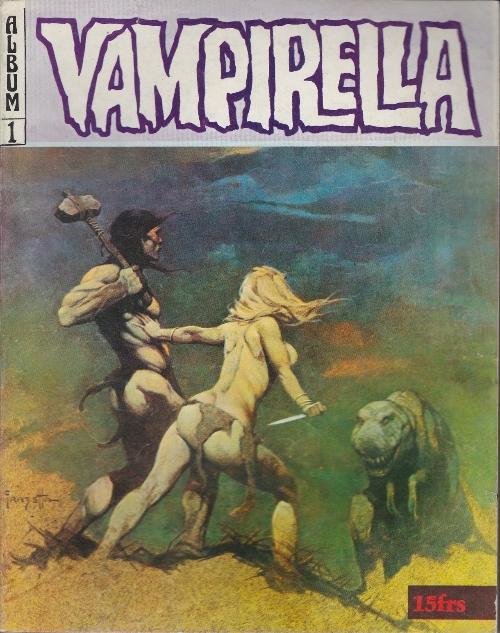 Couverture de Vampirella (Publicness) -Rec01- Album N°1 (du n°2 au n°4)