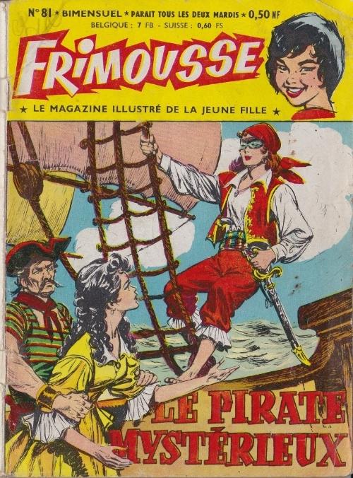Couverture de Frimousse et Frimousse-Capucine -81- Le pirate mystérieux
