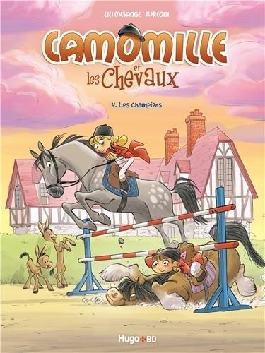 Couverture de Camomille et les chevaux -4- Les Champions
