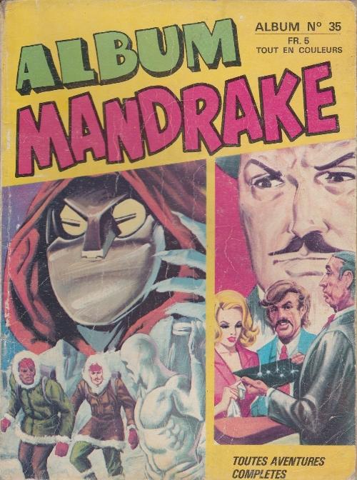 Couverture de Mandrake (1e Série - Remparts) (Mondes Mystérieux - 1) -REC35- Album n°35