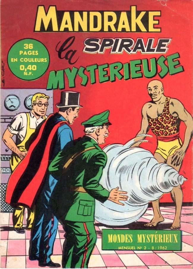 Couverture de Mandrake (1re Série - Remparts) (Mondes Mystérieux - 1) -2- La spirale mystérieuse