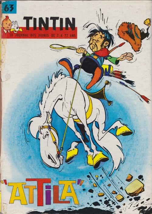 Couverture de (Recueil) Tintin (Album du journal - Édition française) -63- Tintin album du journal (n°829 à 841)