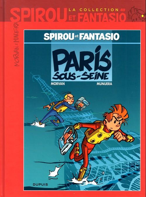 Couverture de Spirou et Fantasio - La collection (Cobra) -49- Paris-sous-seine