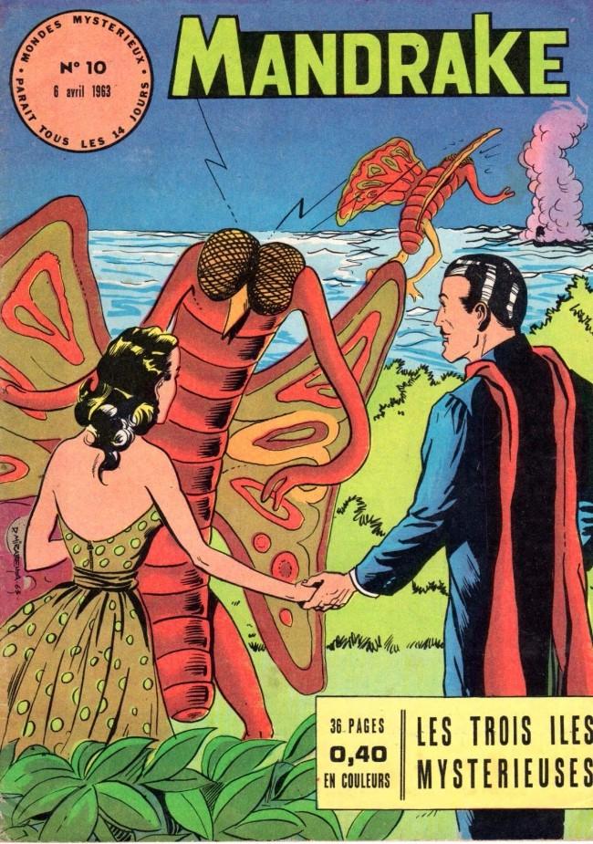 Couverture de Mandrake (1e Série - Remparts) (Mondes Mystérieux - 1) -10- Les trois îles mystérieuses