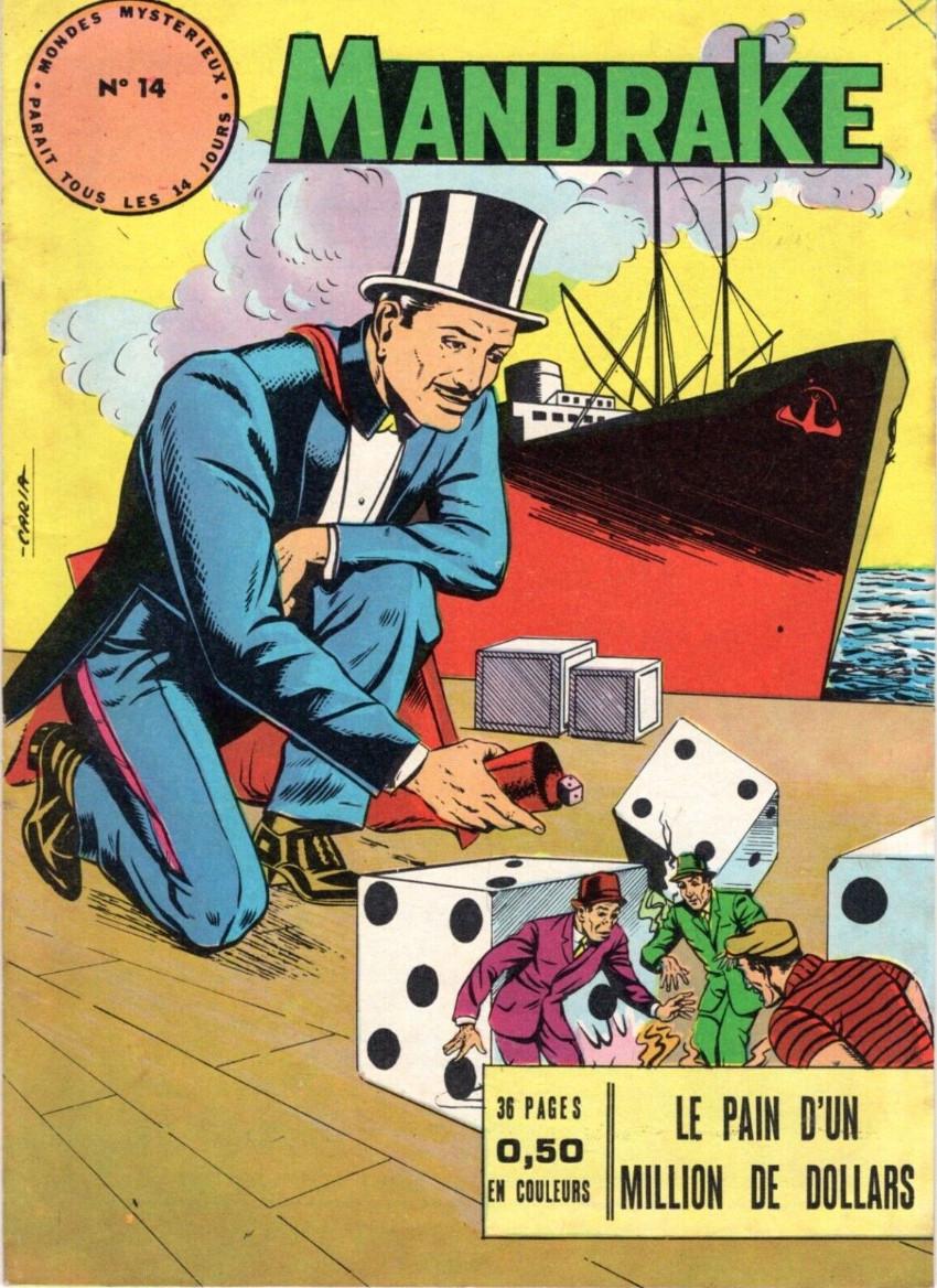 Couverture de Mandrake (1re Série - Remparts) (Mondes Mystérieux - 1) -14- Le pain d'un million de dollars