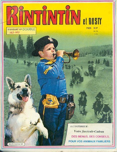 Couverture de Rin Tin Tin & Rusty (2e série) -142143- Rintintin et Rusty 142-143 n° double