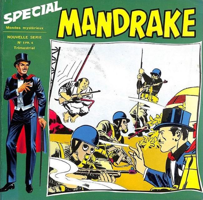 Couverture de Mandrake (4e Série - Remparts) (Spécial - 2) -1- La bataille de Xanadu
