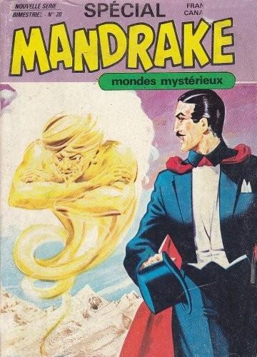 Couverture de Mandrake (4e Série - Remparts) (Spécial - 2) -20- La vengeance de Victor