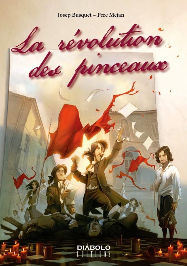 Couverture de La révolution des pinceaux