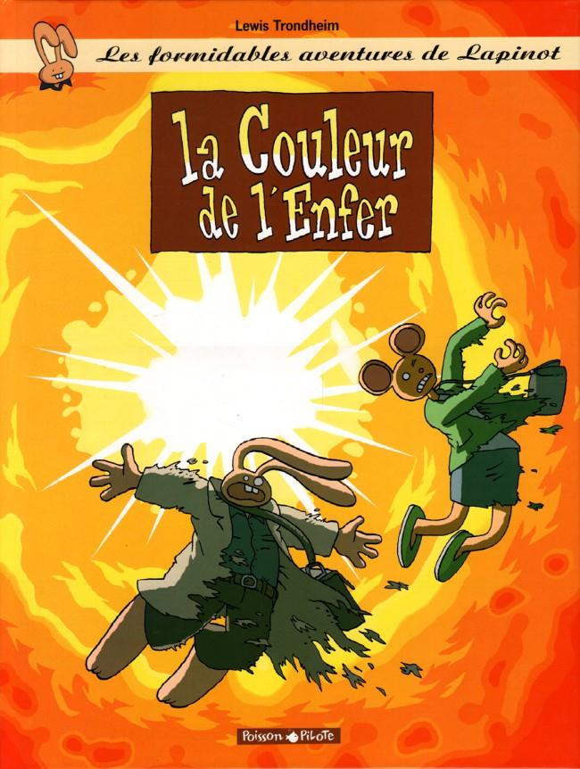 Couverture de Lapinot (Les formidables aventures de) -10- La couleur de l'enfer