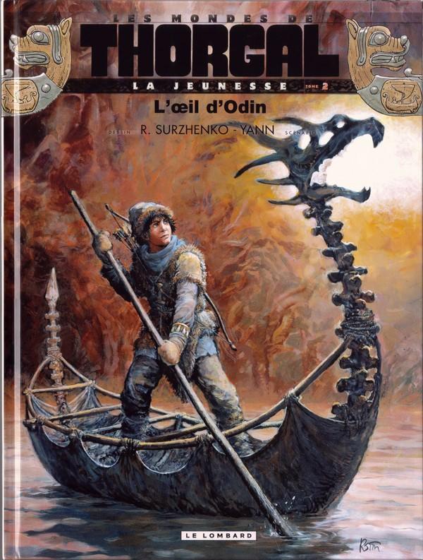 Couverture de Thorgal (Les mondes de) - La Jeunesse de Thorgal -2- L'œil d'Odin