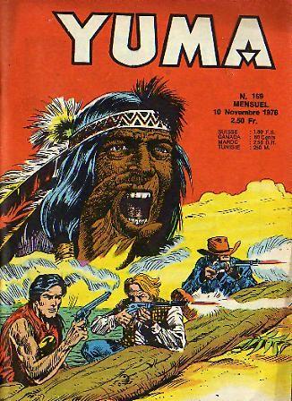 Couverture de Yuma (1re série) -169- La marche de la mort