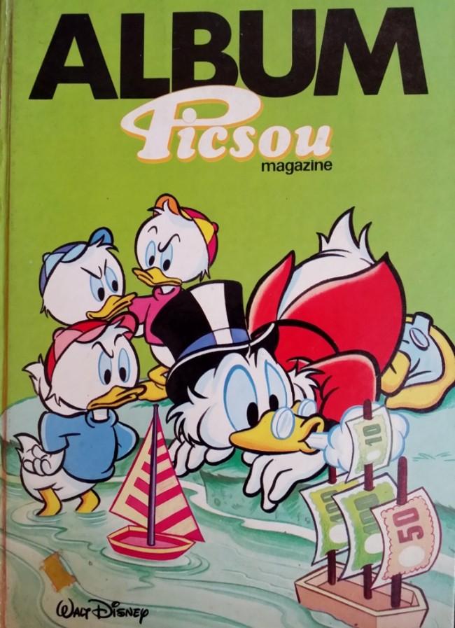 Couverture de Picsou Magazine -Rec R- (1re série) recueil R (n° 160 à n° 163)