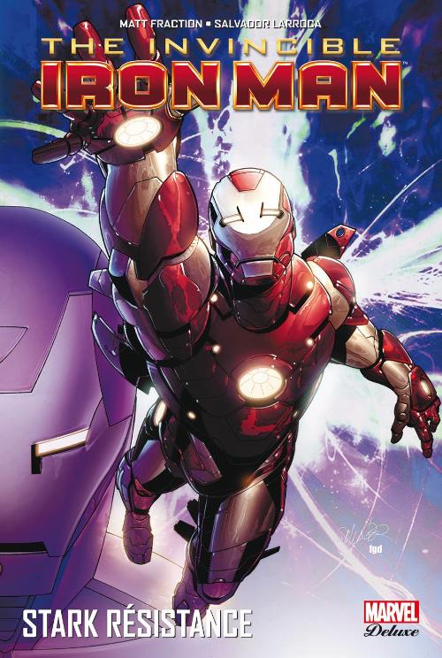 Couverture de Invincible Iron Man (The) (Marvel Deluxe) -3- Stark Résistance
