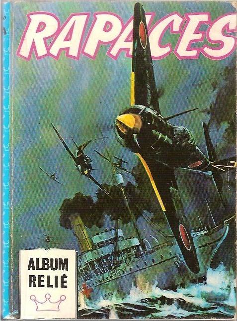 Couverture de Rapaces (Impéria) -Rec71a- Album relié N°71