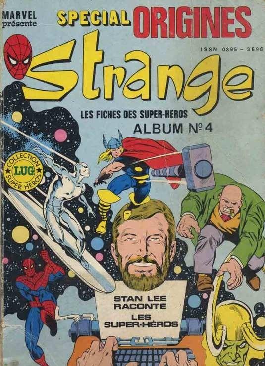 Couverture de Strange (Spécial Origines) -Rec04- Album N°4