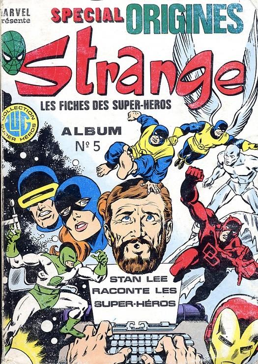 Couverture de Strange (Spécial Origines) -Rec05- Album N°5