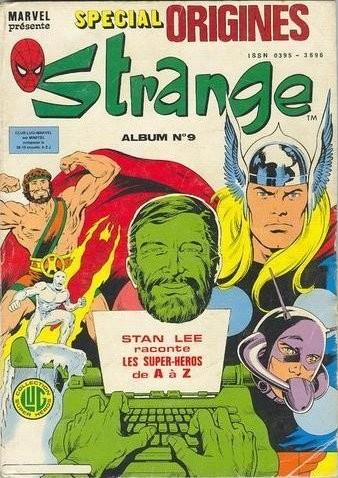 Couverture de Strange (Spécial Origines) -Rec09- Album N°9