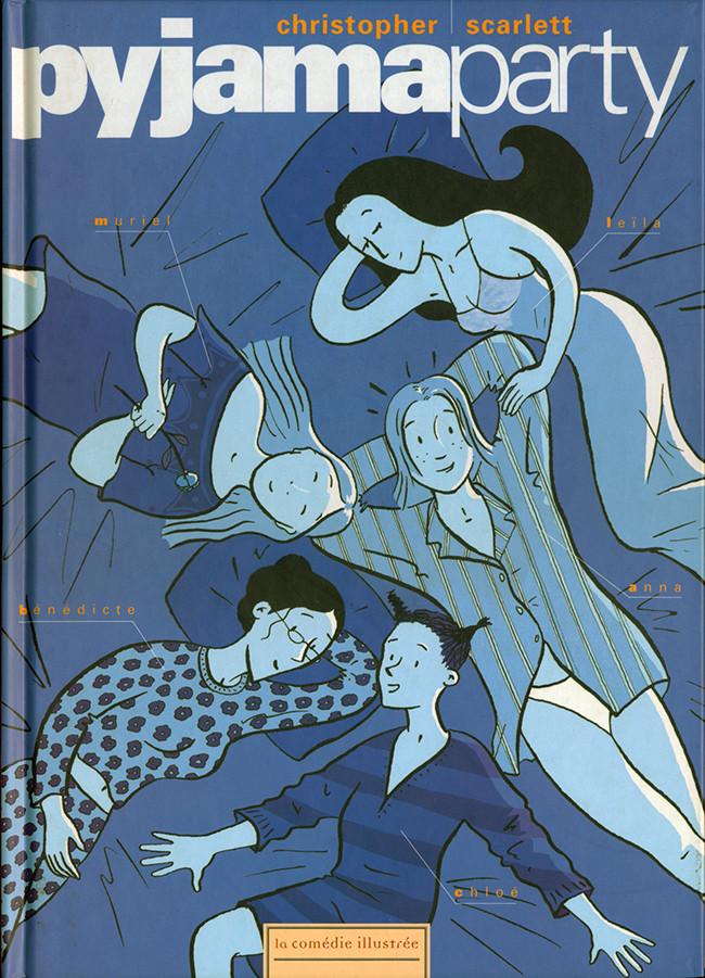 Couverture de Les filles -1- Pyjama party