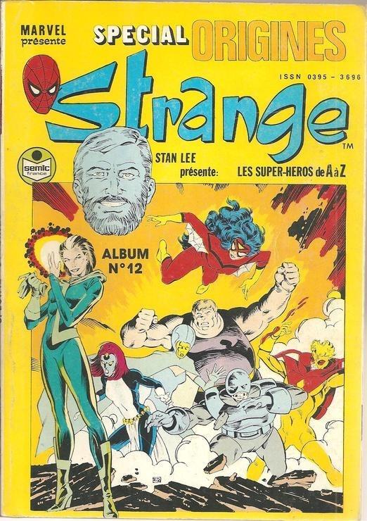Couverture de Strange (Spécial Origines) -Rec12- Album N°12