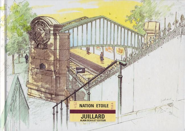 Couverture de (AUT) Juillard -14- Nation étoile