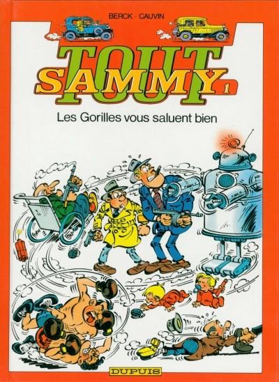 Couverture de Sammy (Tout) -1- Les Gorilles vous saluent bien