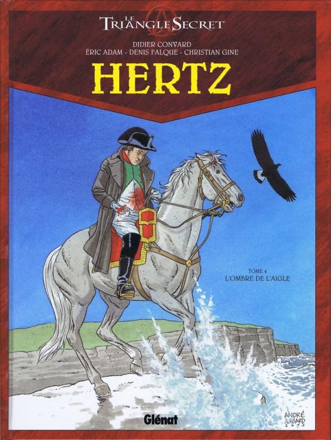 Couverture de Le triangle Secret - Hertz -4- L'Ombre de l'Aigle