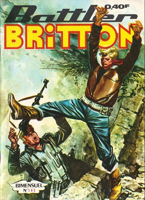 Couverture de Battler Britton -165- Réputation usurpée