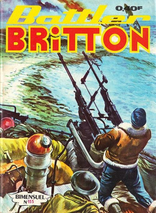 Couverture de Battler Britton (Imperia) -155- Prise de vue - Visite forcée - BB et les Déserteurs