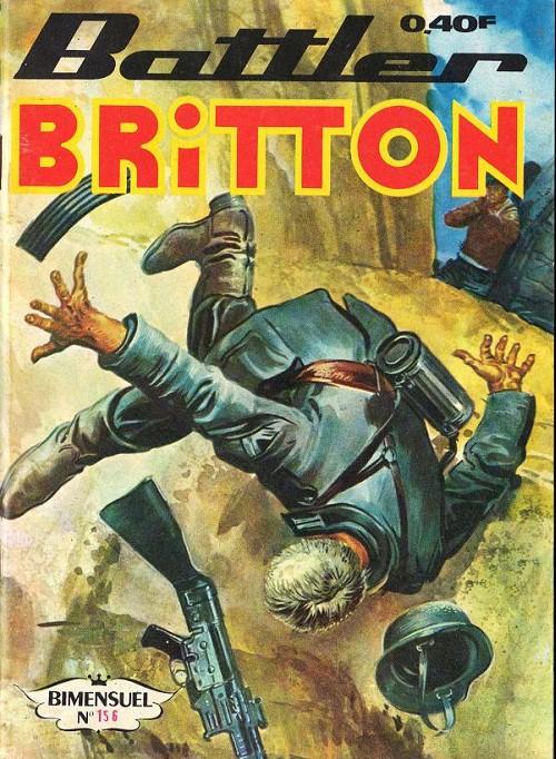 Couverture de Battler Britton -156- Sus aux vipères ! - Évasion
