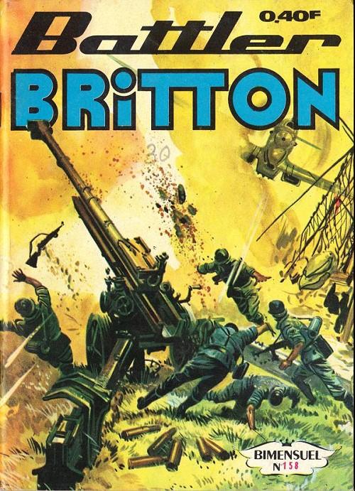 Couverture de Battler Britton (Imperia) -158- Lutte farouche - du rêve à la réalité