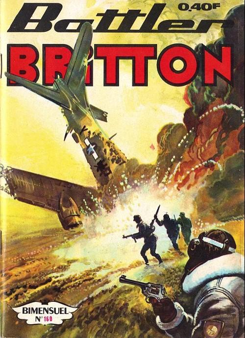 Couverture de Battler Britton -160- Les tanks volants - le bon élève - l'aigle à deux têtes