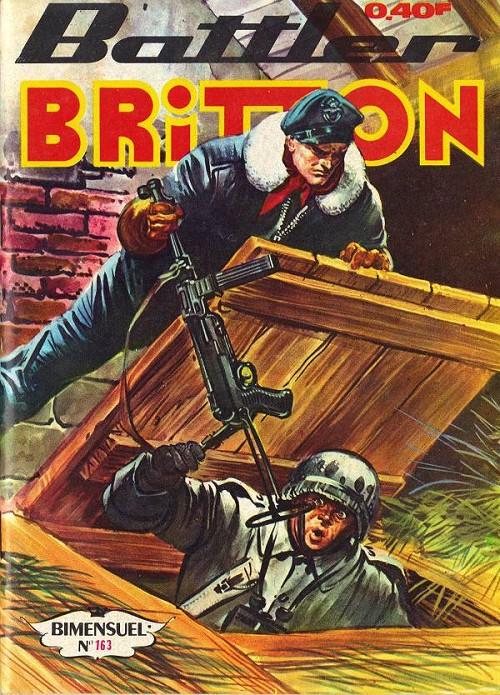 Couverture de Battler Britton -163- Toile d'araignée - le palmarès