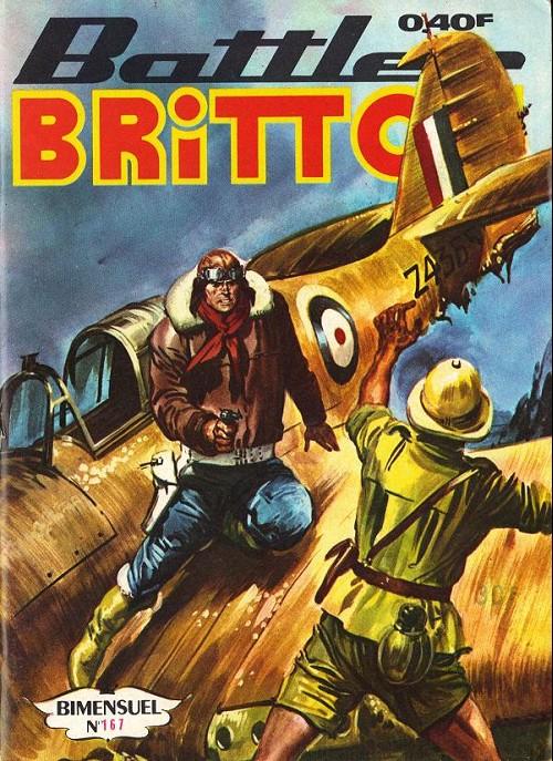 Couverture de Battler Britton -167- Le guerrier du ciel 2/2