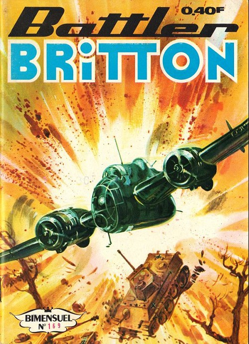 Couverture de Battler Britton -169- Une paire d'amis - le guerrier du ciel 1/2