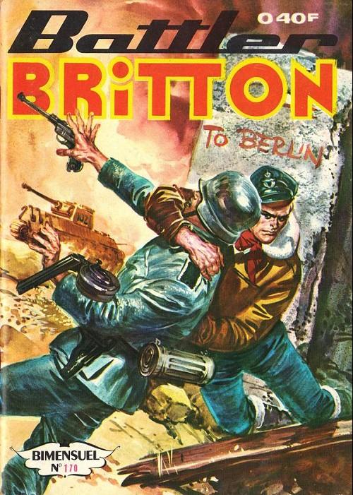 Couverture de Battler Britton -170- Le Nuage noir - Un voyage en France