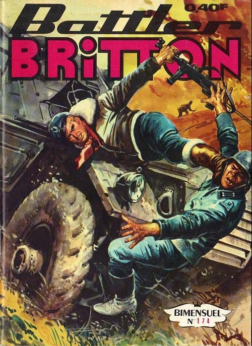 Couverture de Battler Britton -174- Le traquenard - duel dans le ciel