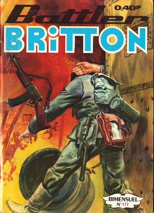 Couverture de Battler Britton -177- Commando catapulté - l'épave