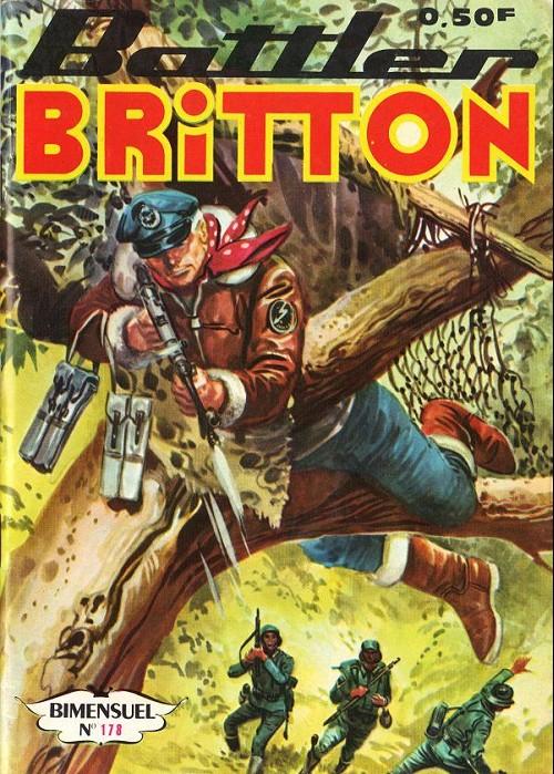 Couverture de Battler Britton (Imperia) -178- La rançon - je n'aime pas les espions